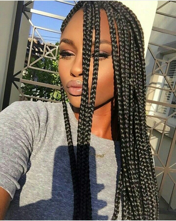 Best 20 Long Box Braids Ideas On Pinterest Long Braids Styles Box Braids And Black Box Braids