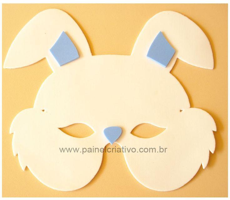 #Mascaras de Conejo en #GomaEva