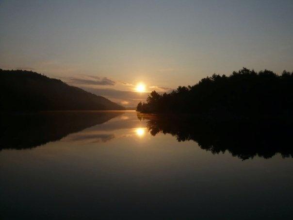 Sunrise in Baie Fine
