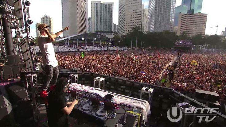 Skrillex & Diplo <3<3<3 Jack U LIVE @ ULTRA MUSIC FESTIVAL 2014