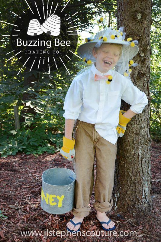 DIY Halloween Costume - Boy or Girl - Bee Keeper - Thrifty Halloween