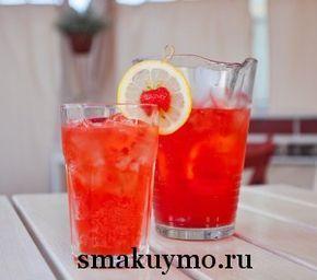 Домашний клубничный лимонад