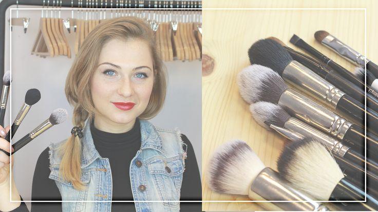 Rodzaje pędzli do makijażu. 5 sposobów na wybór akcesoriów #makeup #uroda #styl