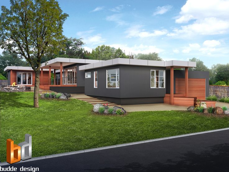 3D external Artist Impression or 3D rendering by Budde design for marketing purposes - Rye Victoria.  Colour and material selection below -  James Hardie Matrix Cladding - Colorbond Surfmist,   James Hardie Vertical Scyon Axon Cladding - Dulux Drive Time,  James Hardie Horizontal Scyon Stria Cladding - Colorbond Monument,  Window frames - Silver,  Merbau Timber and Merbau timber decking