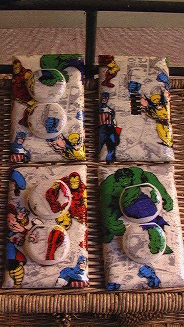 Marvel Avengers Set Wolverine Spiderman Iron Man Hulk Captain America Thor Here