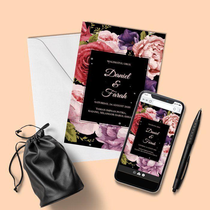 Design By Inspirasi Kad Kahwin Kad Kahwin Design Kad Kahwin Online Invitations