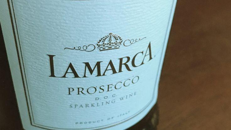 A bottle of Lamarca Prosecco, so a perfect summer night cap.