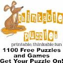 Free Word Puzzles, Math Puzzles & Games to Print