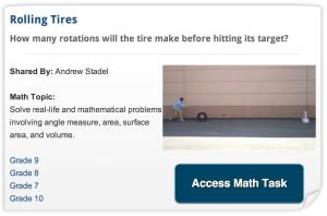 Share Your 3 Acts Real World Math Tasks With the World | Submit Online