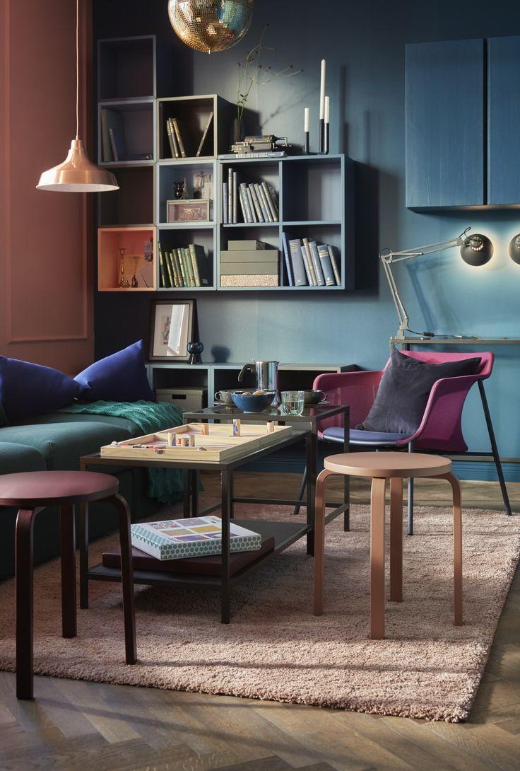 Mejores 20 im genes de espacios azules en pinterest azul - Espacios de trabajo ikea ...