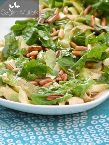rokalı  kabak salatası