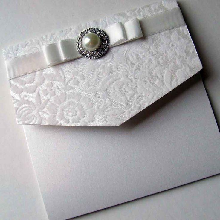 67 best Wedding Invitations images on Pinterest | Pocketfold ...