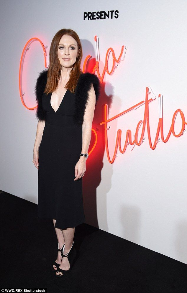 Fashion muse: The redhead looked youthful beyond her years