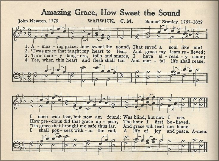 Amazing Grace ....the most beautiful and meaningful song ever written!!!   http://3.bp.blogspot.com/-OLs1zIE4hfk/TzxdEzr8saI/AAAAAAAAEQY/jNj-xmavmoA/s1600/lbb+hymn+amazing+grace.jpg