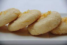 Biscuits moelleux amande citron (sans gluten)