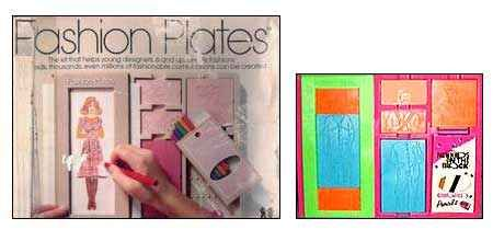 Fashion Plates.  I loved this toy.