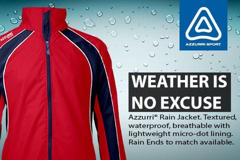 Azzurri Sport Rain Jacket