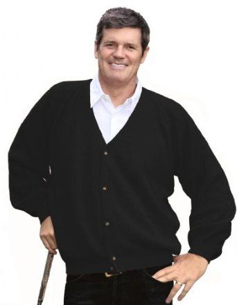 ILIAC GOLF MEN'S BLACK CARDIGAN SWEATER ON SALE TODAY!!! HIGH END men's athletic GOLF wear at LOW END prices! Men's ILIAC GOLF brand is designed by hand by Bert LaMar. We have Golf pants, shirts, shorts, sweaters, jackets and accessories galore at INCREDIBLY low prices! http://stores.ebay.com/realcoutureoforangecounty/