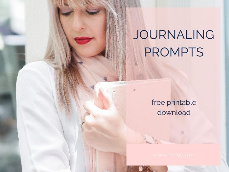 I used to not know what to journal about and journaling prompts are what really got me set in my journaling ways. Here are some journaling prompts for you to try out [free printable]