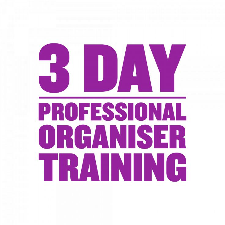 Professional Organiser Training Program