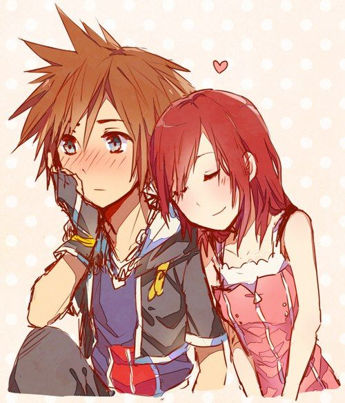 I don't typically pin KH fan art, but this one was just so adorable! Sora and…