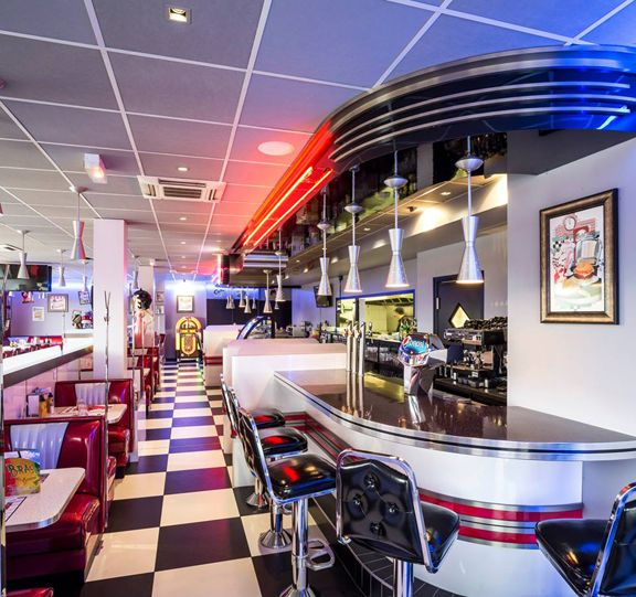 17 best images about love retro diner on pinterest for American classic diner