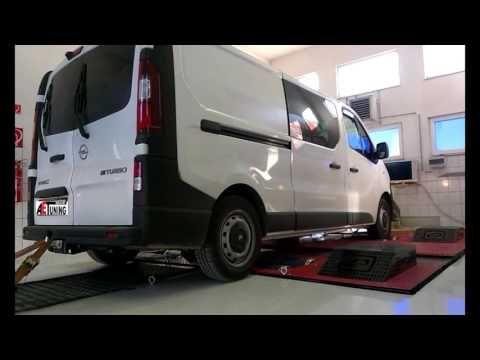 Opel Vivaro 1.6CDTI Bi Turbo 125LE AET CHIPtuning Referencia Videó