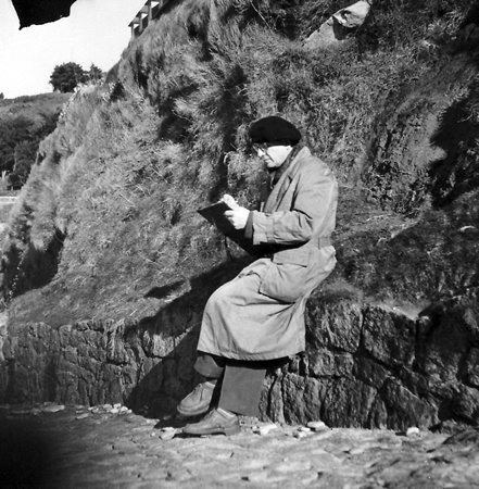 Messiaen listening to the birds.