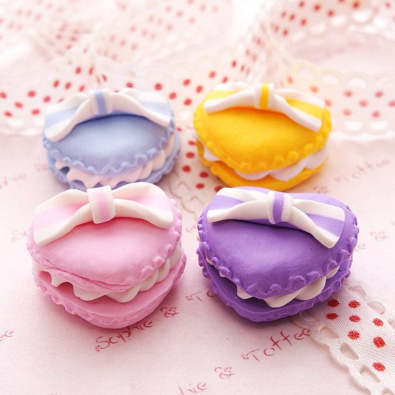 :DDDD WANT!!!!!!!  Sweets Deco Decoden Kawaii Polymer Clay Charm by SophieToffeeCo, $6.90