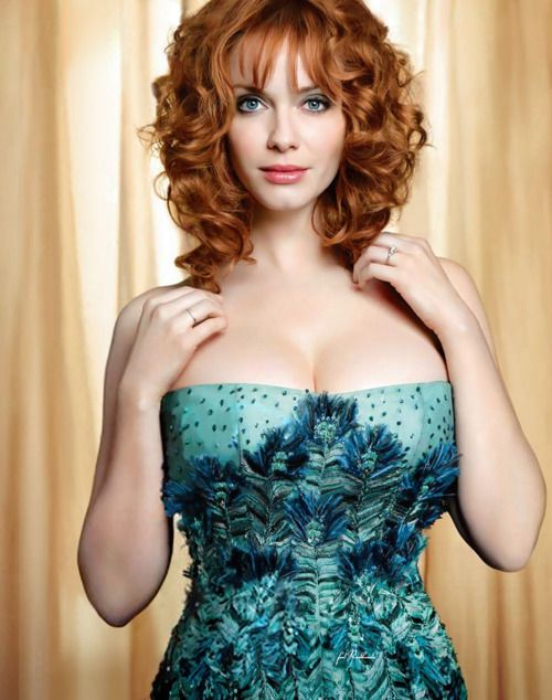 """Mad Love"" : Christina Hendricks by Sheryl Nields"