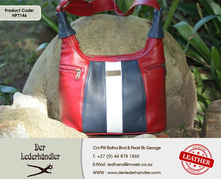 This stunning bright red genuine leather handbag would be any girl's dream come true! So get down to a #DerLederhandler outlet today and spoil the love of your life. For more information, enquire now at http://anapp.link/5v3 (Desktop) or http://anapp.link/5v4 (Mobile) or visit our website: http://asite.link/5we. #genuineleather #handbag