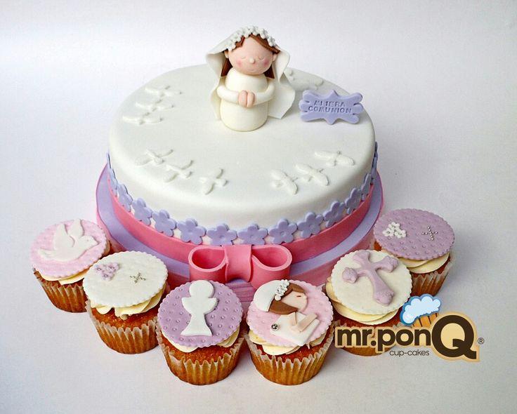 Mr.ponQ  cuo-cakes y torta niña maria