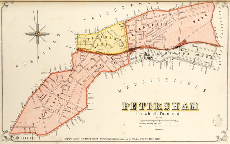 Petersham borough map. Available to purchase as an archival print. Contact the Library Shop for details. Print number C006720033