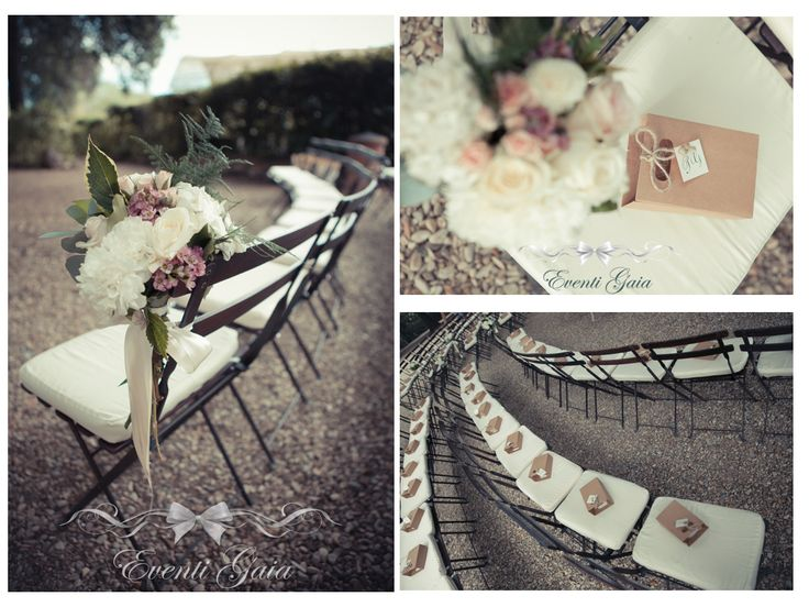 Wedding Ceremony details in Tuscan countryside