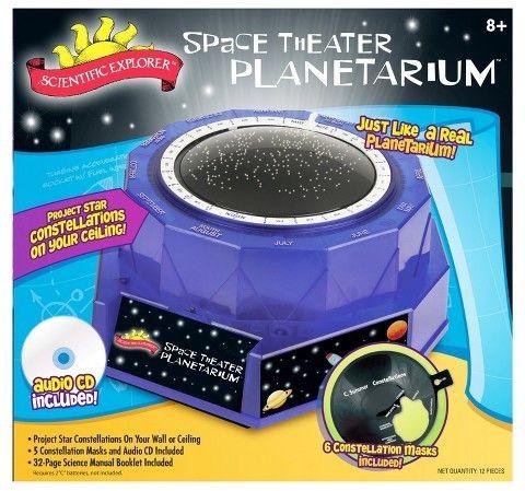 Gakken home planetarium experience music project