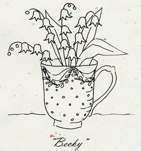 cute pattern for embroidery