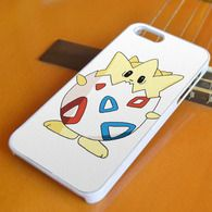 Togepi Pattern Pokemon Egg iPhone 4/4S, iPhone 5/5S/5C, iPhone 6 + 6 Plus Case, Samsung S3 S4 S5