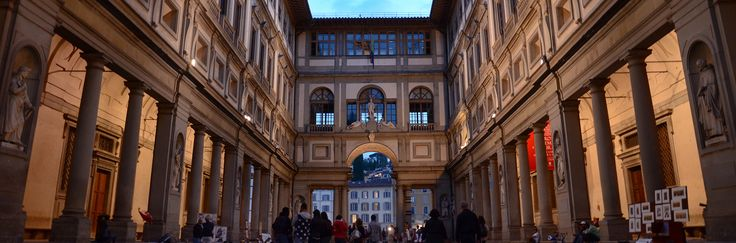 The halls of theUffizi Gallerywere born as offices for the prosecutors, judges, engineers and merchants of Florence. The gallery occupies the entire first and second floors of the majestic building. It was constructed between 1560 and 1580 ona design by Giorgio Vasari and by the request of the Grand Duke Francesco I.   #Botticelli #Caravaggio #Firenze #florence #Florence-Museum #Galleria degli Uffizi #Madici #The Birth of Venus #Uffizi Gallery