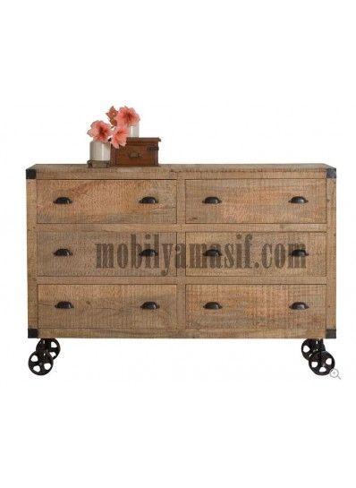 Old Wood Konsol
