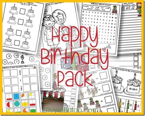 Be sure to snag this FREE Birthday Printable Pack for your child in grades K-2nd. What a fun way to honor their special day and get some school work in as well! :: Today's Frugal Mom