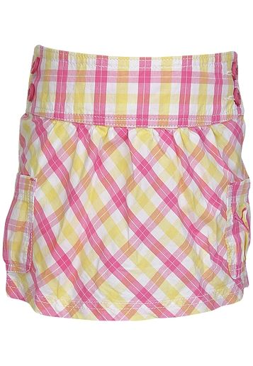 Add a splash of colour to your kid's wardrobe with this pink coloured skirt from the house of PUMA. Made of cotton blend, this regular-fit skirt for girls is comfortable to wear and skin friendly as well.