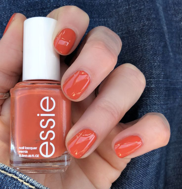 Essie Nail Polish Orange Shades: Essie Spring Collection 2018 'At The Helm!' The Perfect