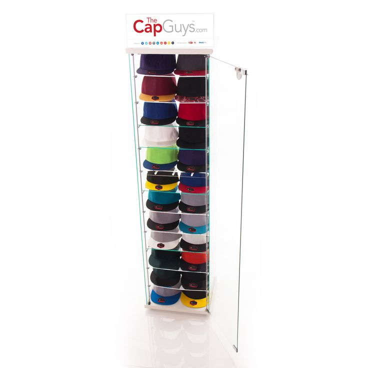 The Cap Guys - Retail Kiosks - showcases hats in a beautiful and elegant display. Captures the imagination and produces sales. Contact us today! https://buff.ly/2hexzkE?utm_content=buffer5b583&utm_medium=social&utm_source=pinterest.com&utm_campaign=buffer #thecapguys #retailkiosks. #retail #kiosks #barbershop #salon #conveniencestores #movie #videogame #comics #comicbook #logo #snapback #hat #cap #black #fashion #swag #me #style #tagsforlikes #me