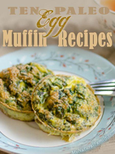 10 Paleo Egg Muffins Recipes