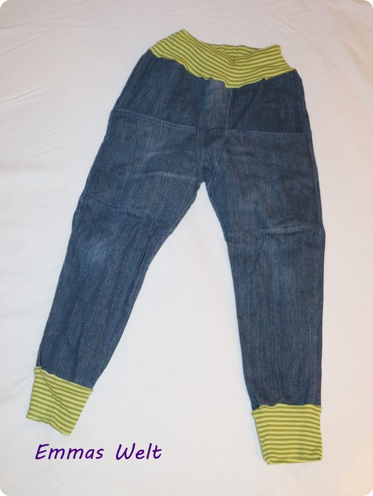 Jeans Upcycling – Emmas Welt