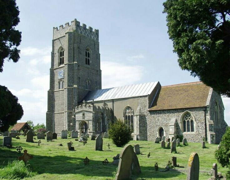 St Mary's Church, Kersey, Suffolk