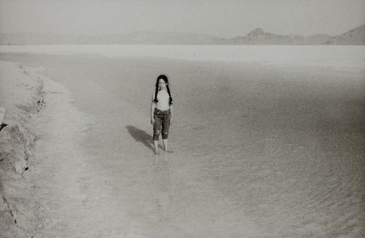 Philip Perkis, Rachel, Great Salt Lake, Utah, 1969