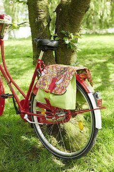 Nähanleitung Fahrradtasche für Gepäckträger (free)