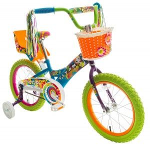 3. Titan Girls Flower Princess 16 inch BMX bike