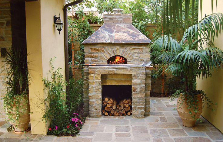 Pizza Ovens ( this is what I want in my backyard)